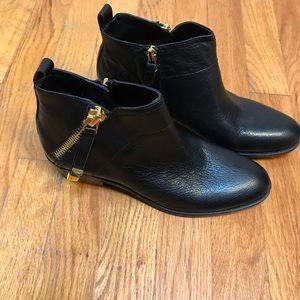 New Franco sarto black booties size 6 1/2